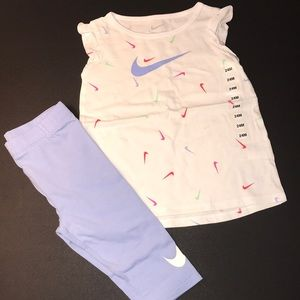Nike Baby Toddler Outfit Set NWT 24M Girl